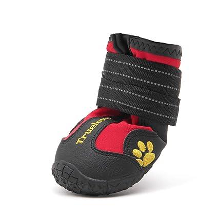 a2fa81d811dd6 Amazon.com : Haoweidaoshanghang Dog Shoes, Pets, Waterproof, Rain ...