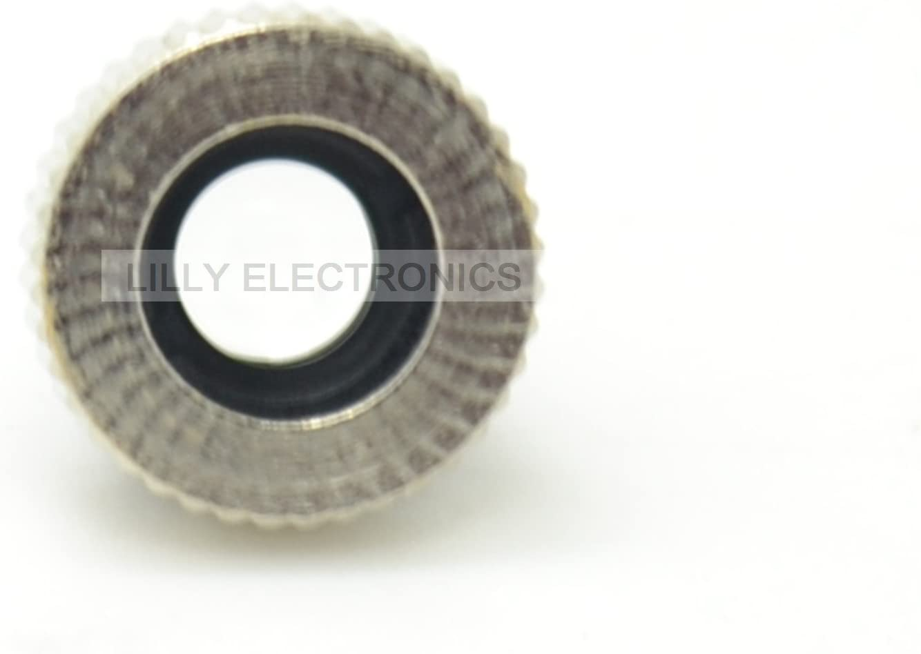 Q-BAIHE Dot Laser Lens 200nm-1100nm with Lens Frame M9 and Metal Cap