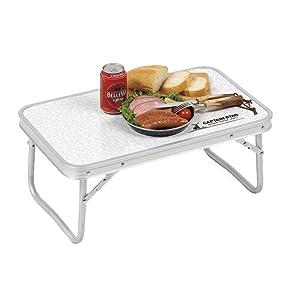 キャプテンスタッグ BBQ用 ラフォーレアルミFDテーブル UC-512