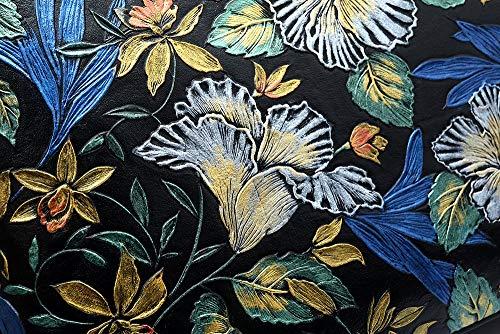 de Mujeres de Chino Las Bolso Relieve Mediana Solo Grabado Paquete de Marca la de PMSIX en Grande Edad Bolso de la del Viento de Estilo Hombro Madre Flor Bolso de Cuero la 5qXw1ZI