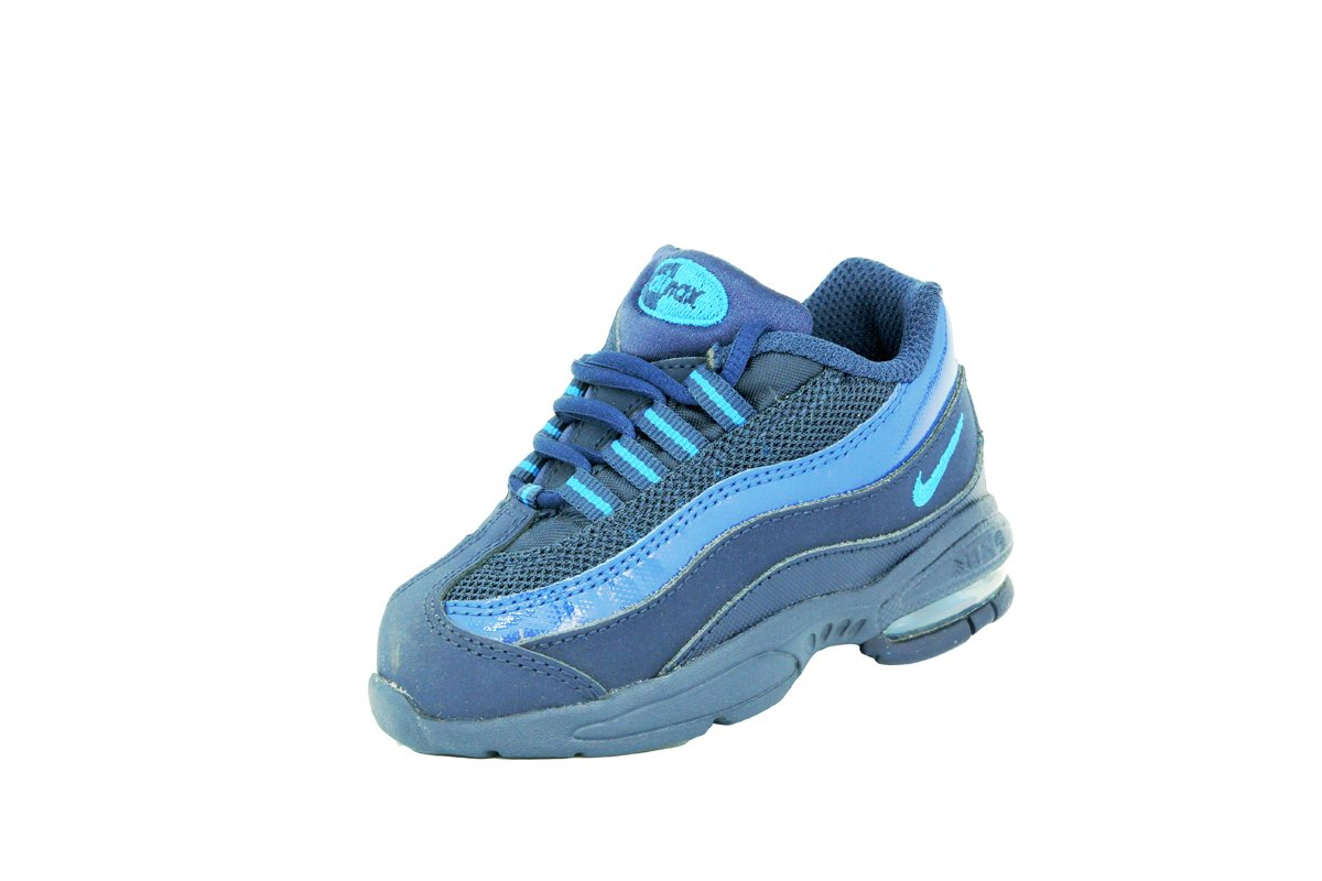 the best attitude 31569 792a9 Nike AIR MAX 95 BABY Blue Baby Boys Sneakers Shoes Amazon.co.uk Sports   Outdoors