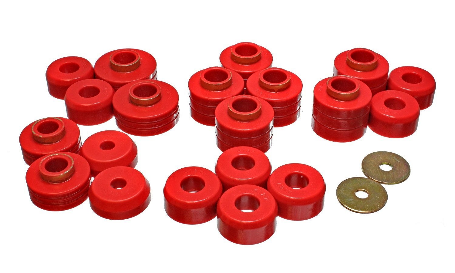 Energy Suspension 4.4105R Body Mounts for Ford Bronco II