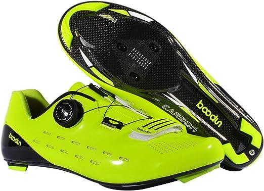 ZWYY Zapatos de Bicicleta de Carretera, Transpirable ...
