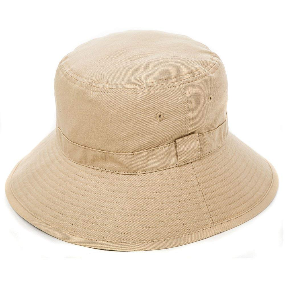 678baee9cc1 Amazon.com  SIGGI Bucket Boonie Cord Safari Hat Fishing Hiking Cap Cotton  for Men Women UPF 50+ Khaki  Clothing