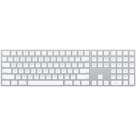 2e4ecdf8afb Apple Magic Keyboard with Numeric Keypad - US English - Silver ...