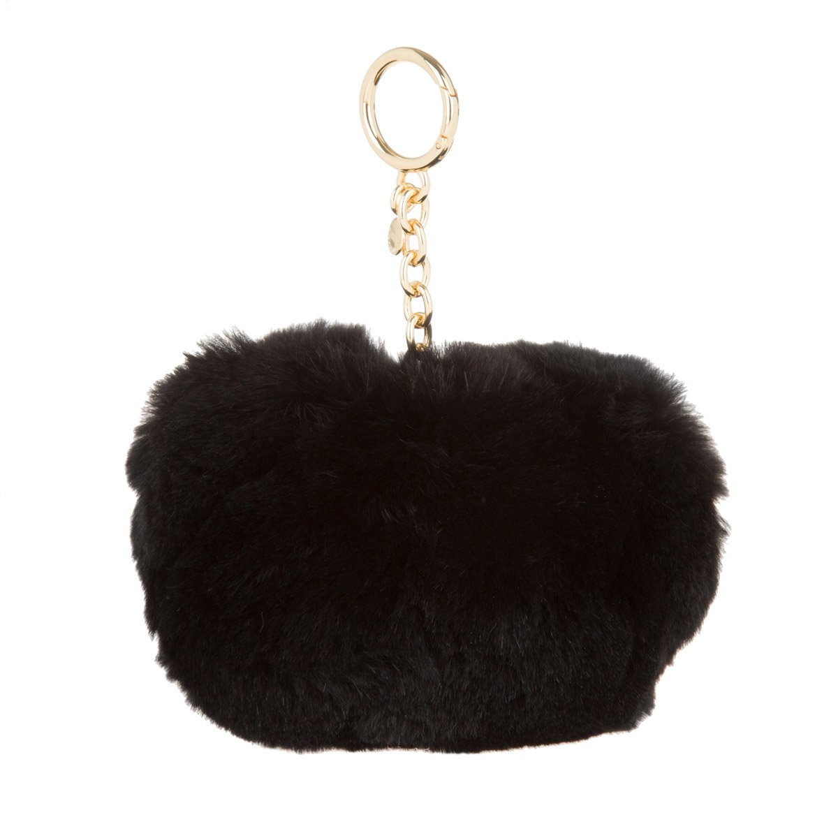 bb2b0fd7d8ab MICHAEL Michael Kors Large Fur Pom Pom Keychain at Amazon Women's Clothing  store: