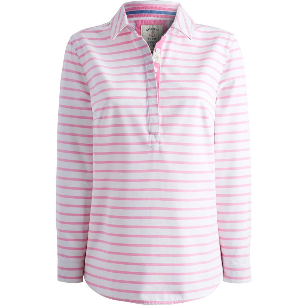 co Amazon Shirt Stripe Cotton Ladies Pink Joules Clovelly Pretty 8Aqzzwp