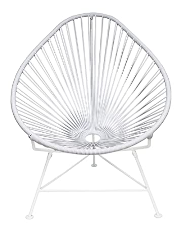 Lovely Innit Designs Acapulco Chair, White Weave On White Frame