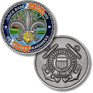 USCG Base New Orleans Challenge Coin
