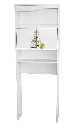 alsapan 495240 galet meuble wc pont bois blanc 63 x 23