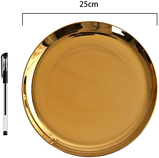 Amazon Com Gold Silver Dinner Plate Dinnerware Set Decorative Plates Ceramic Kitchen Tableware Dish Wedding Gifts Light Yellow Plates