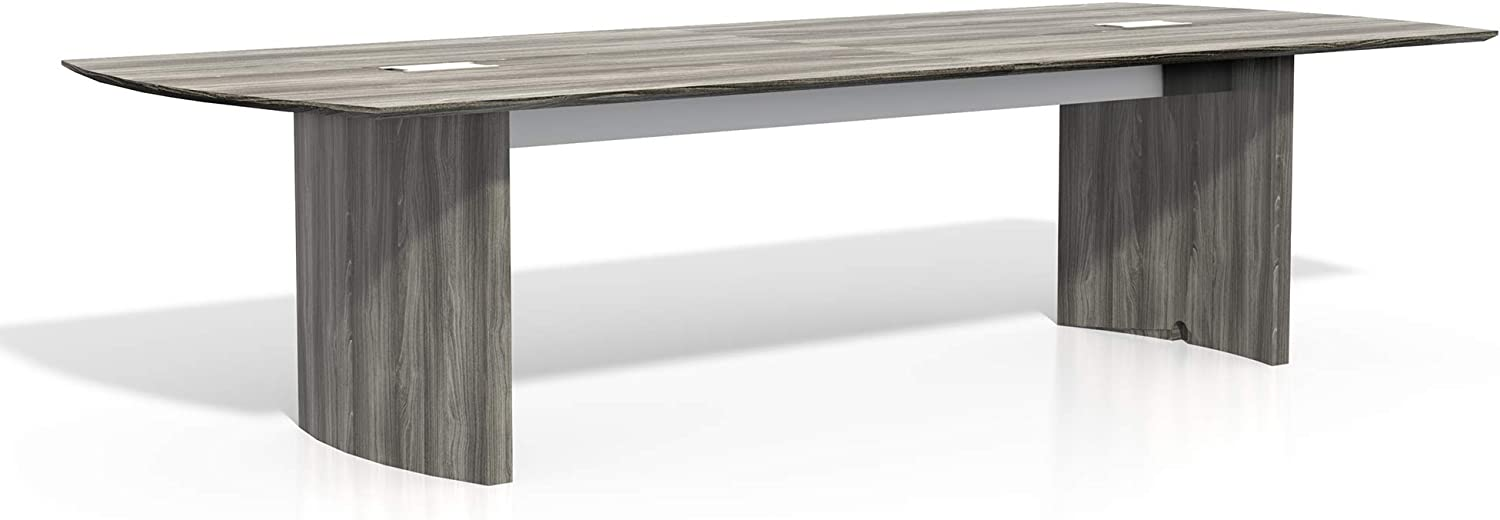 Safco Products Medina Table, 10 , Gray Steel