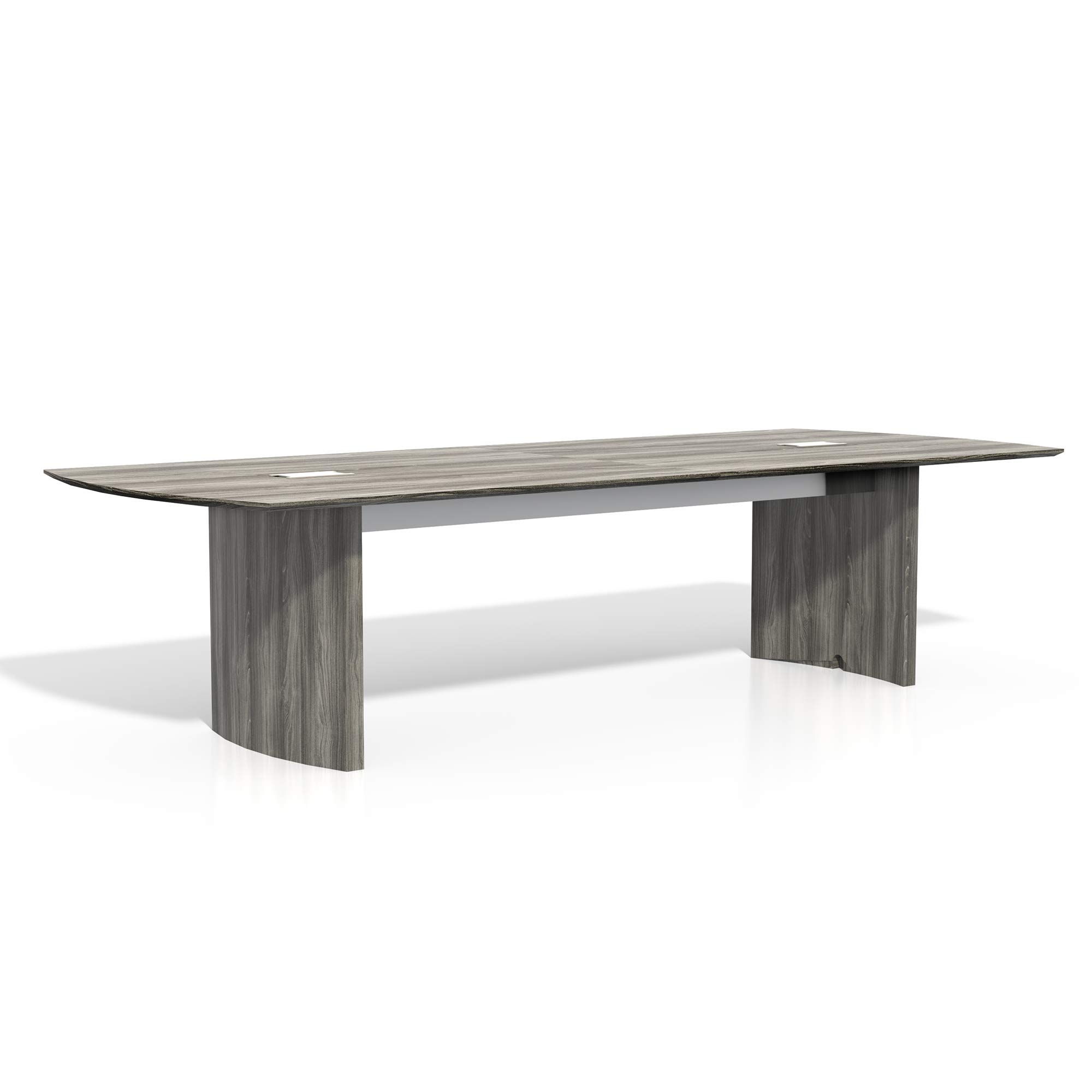 Safco Products MNC10LGS Medina Table 10' Gray Steel by Safco Products (Image #1)