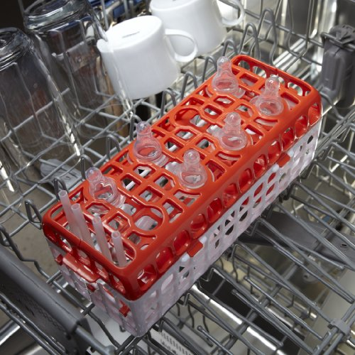 OXO Tot No-Tip Dishwasher Basket for Bottle Parts & Accessories