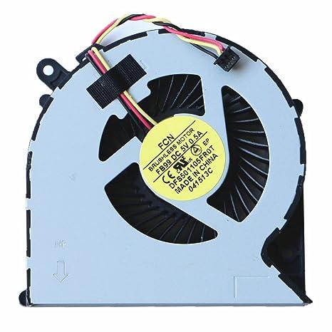 DXCCC Ventilador de Repuesto para Ordenador portátil Toshiba ...