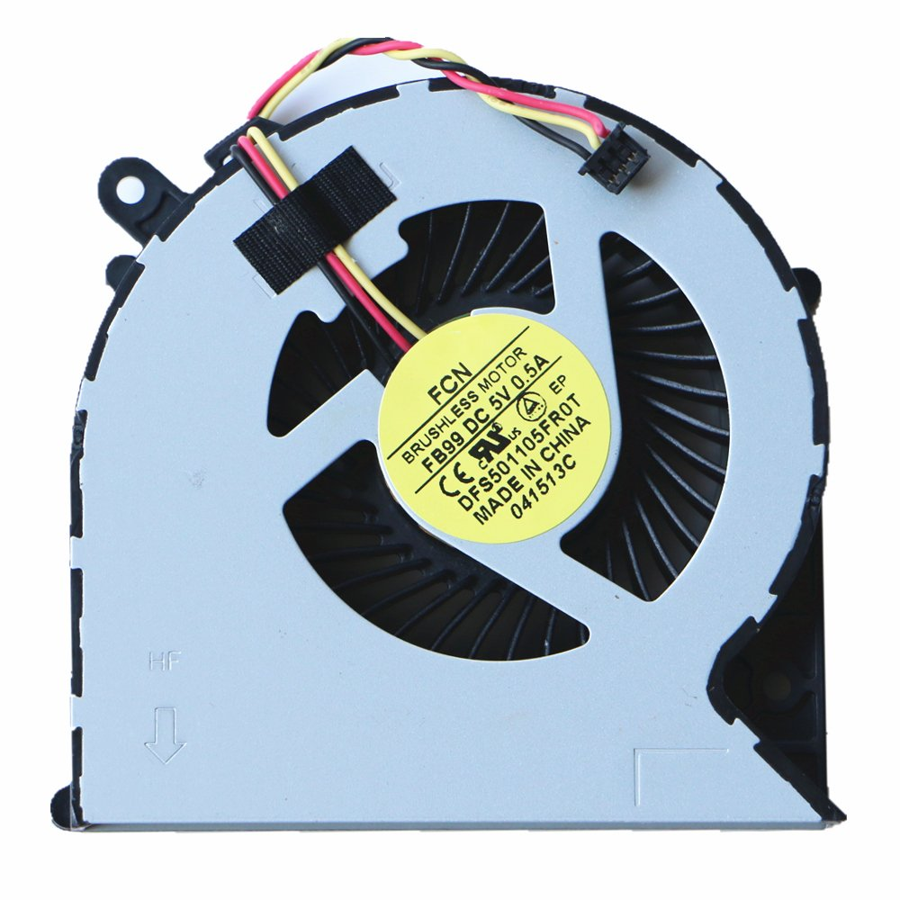 Cooler para Toshiba Satellite C850 C850-1LX C850D C870 C870D C875 L850 L870 L870D 3Pin