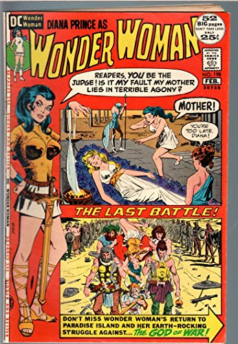 WONDER WOMAN #198 1972-giant issue-DC BRONZE AGE-vg VG