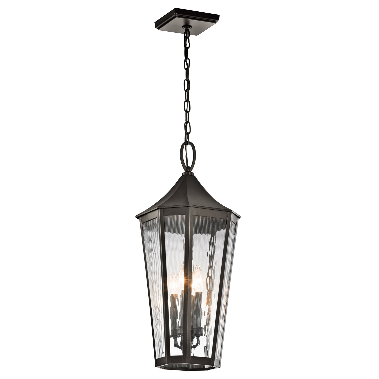 Kichler 49517OZ Four Light Outdoor Pendant