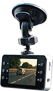 HD Dashboard Camera 360 Swivel Rotation - Dashcam Digital Camcorder 2.4 Screen - Black Camera - Driving Recorder - Always Recording - High Pixel Resolution Video - Black