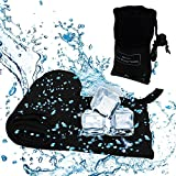 Acelane Microfiber Towel Instant Cooling Towel for Outdoor Sports Travel Beach Camping Gym Yoga -Fast Drying - Super Absorbent - Ultra Compact