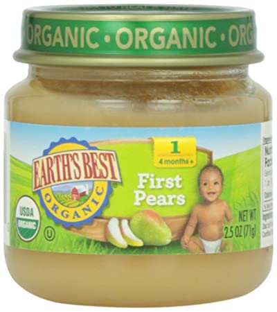 Earth's Best, First Pears, 2.5 oz