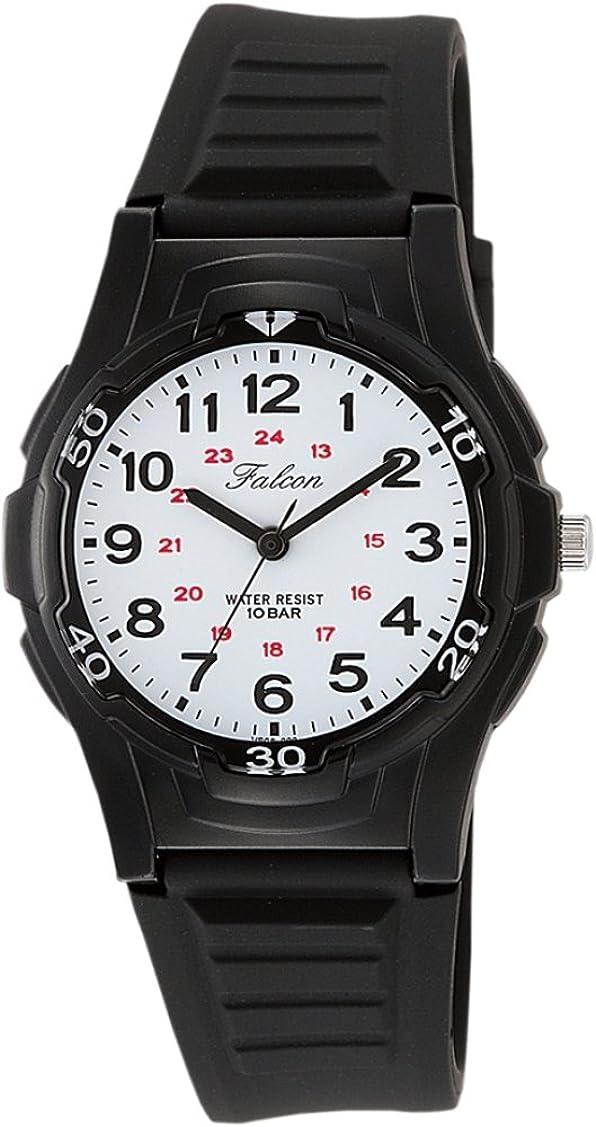取り付けコメンテータースタンド[シチズン キューアンドキュー]CITIZEN Q&Q 腕時計 Falcon (フォルコン) アナログ表示 10気圧防水