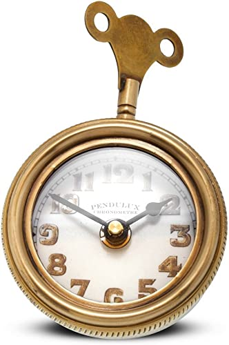 Pendulux, Table Clock, 3 H x 4.5 W x 5.5 D, 1.15 lbs – Mouse