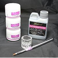 US Seller 6 in 1 Nail Art Kit Acrylic Liquid Powder Pen Dappen dish set 46 (46set)
