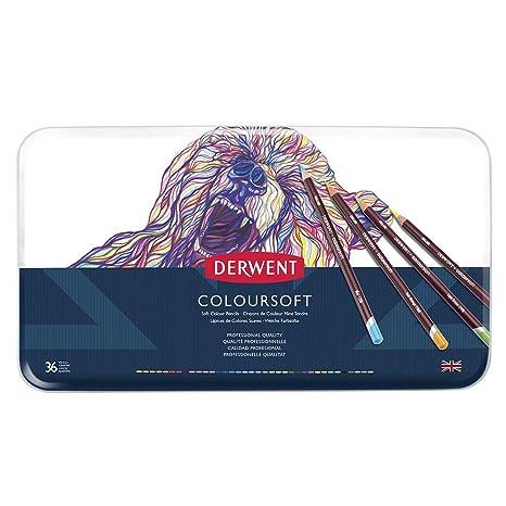 Amazon.com: Derwent lápices de colores, lápices Colorsoft ...