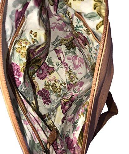 Spikes & Sparrow - Bolso al hombro para mujer beige beige