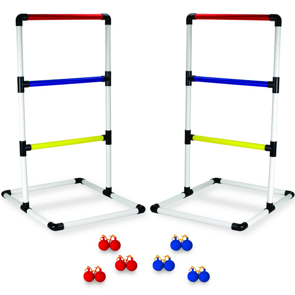CSG Deluxe PVC Ladderball Game - Complete Set!