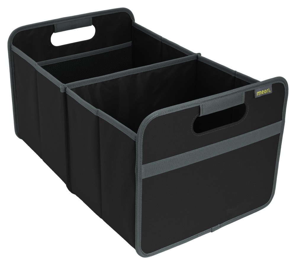 Meori A100002 Faltbox 30 Liter, Lava schwarz Blumen