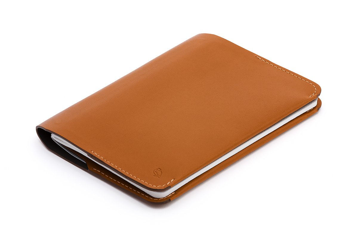 Bellroy Leather Notebook Cover Mini Caramel by Bellroy