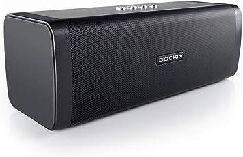 Oferta amazon: DOCKIN Altavoz Bluetooth HiFi D Fine 50W - Sistema de Sonido Portátil con Estéreo de 2 Vías, con Cargador - Cuerpo IP55 Impermeable y Anti Polvo para Exteriores - Reproductor de 10 Horas