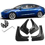 schwarz Hamkaw Tesla Model 3 Zubeh/ör Kofferraummatte vorne//hinten passend f/ür alle Tesla Model 3