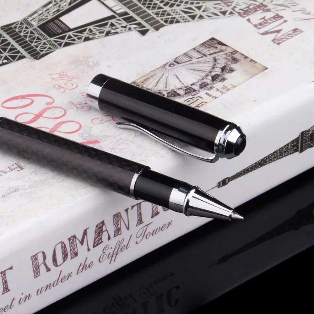 recharge fine stylo /à bille de luxe /à plume avanc/ée/—/— Stylo /à bille noir OMZGXGOD Stylo /à bille bo/îte-cadeau- le meilleur cadeau pour homme