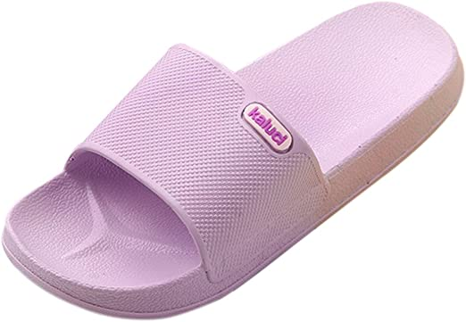 Gym 5-10 Comfy for House Pool Women EVA High Elasticity Slip on Slippers