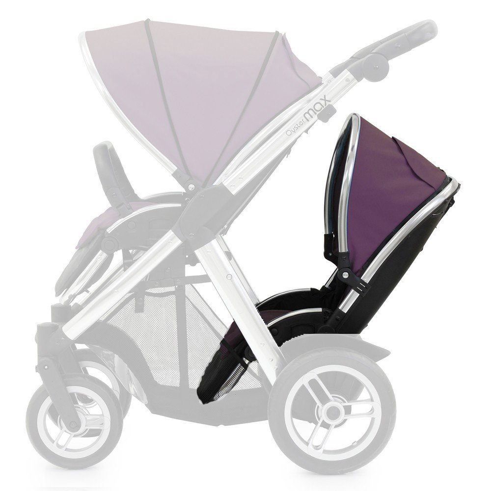 Oyster Max 2 Lie-Flat Tandem Seat Colour Pack, Damson MAX2LFTCPDA
