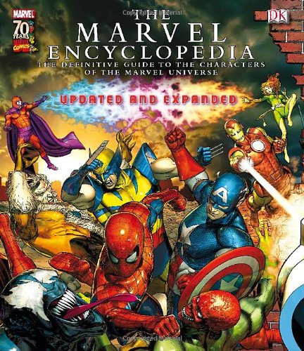 The Marvel Encyclopedia: A Definitive Guide to the Characters of the Marvel Universe]()