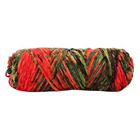 TwoCC-Lana,paquete esencial de bolas de lana dulce:línea tejida a ...