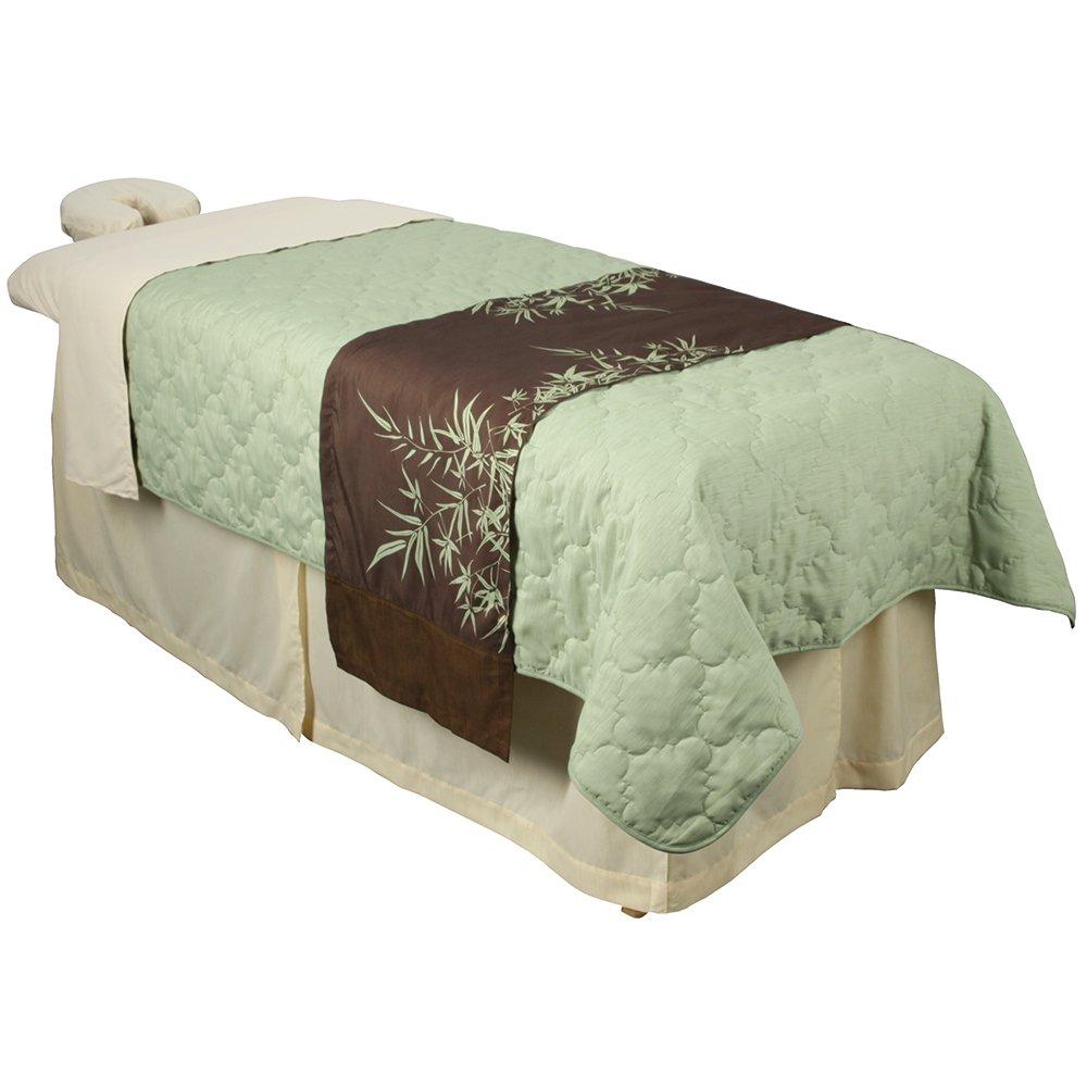For Pro Premium Table Skirt Natural Massage Linen TNG Worldwide