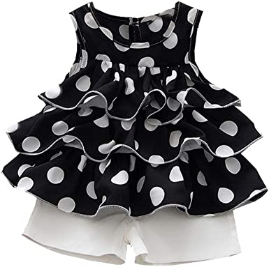 New Toddler Baby Girls Kids Leopard Sleeveless Short Dress Skirt Clothes 2-3Year