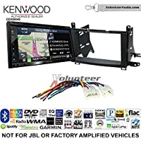 Volunteer Audio Kenwood Excelon DNX694S Double Din Radio Install Kit with GPS Navigation System Android Auto Apple CarPlay Fits 2009-2015 Non Amplified Toyota Venza