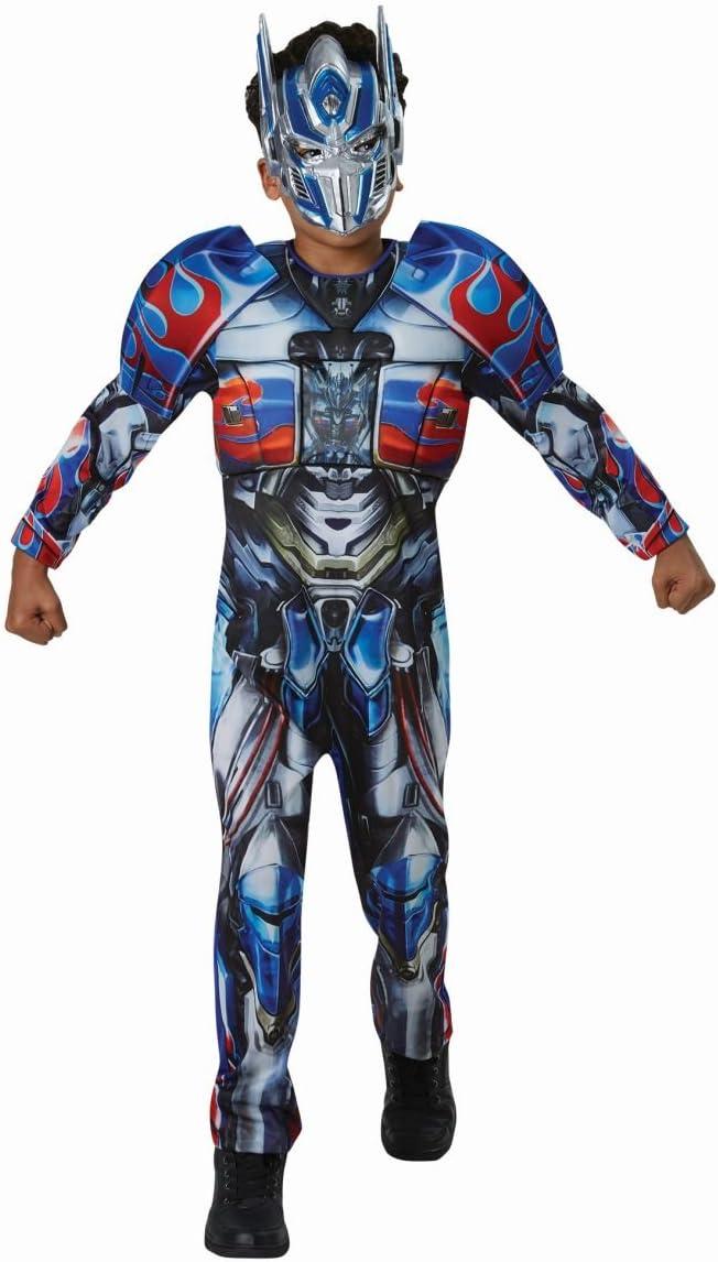 Disfraz de Optimus Prime Deluxe Infantil - Niño, de 7 a 8 años ...