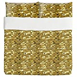 A Town In Africa Duvet Bed Set 3 Piece Set Duvet Cover - 2 Pillow Shams - Luxury Microfiber, Soft, Breathable