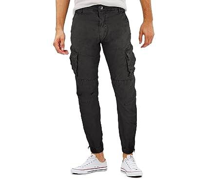 MWS Pantalones para Hombre C-310 Mod. Vincent G-9 Jeans con Bolsillos Laterales: Amazon.es: Ropa y accesorios