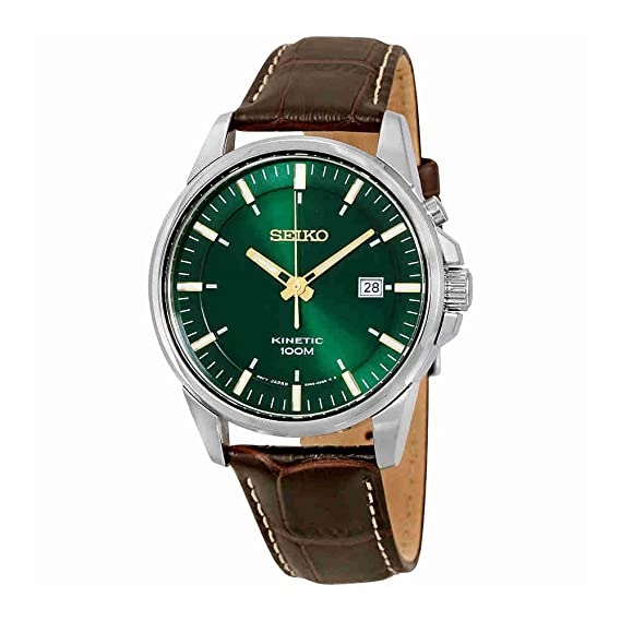 Seiko Kinetic Mens Date Display Watch - SKA533P1: Seiko: Amazon.es: Relojes
