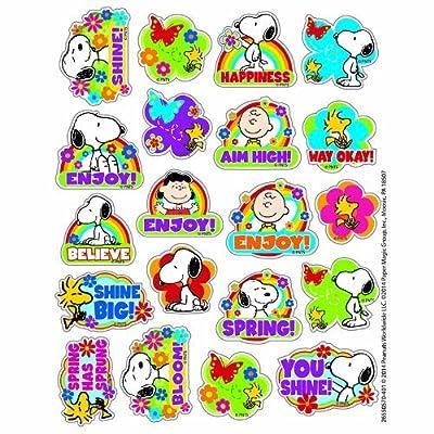 Eureka EU-655057 Peanuts Spring Theme Stickers: Everything Else