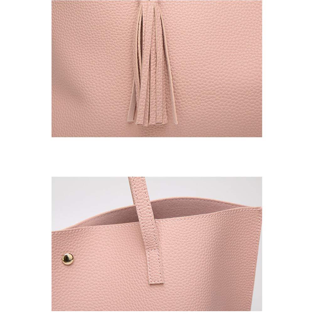 DCRYWRX Leather Lawyers Briefcase Laptop Business Bag Slim Bags for Men Vintage Shoulder Cross-Body Tote