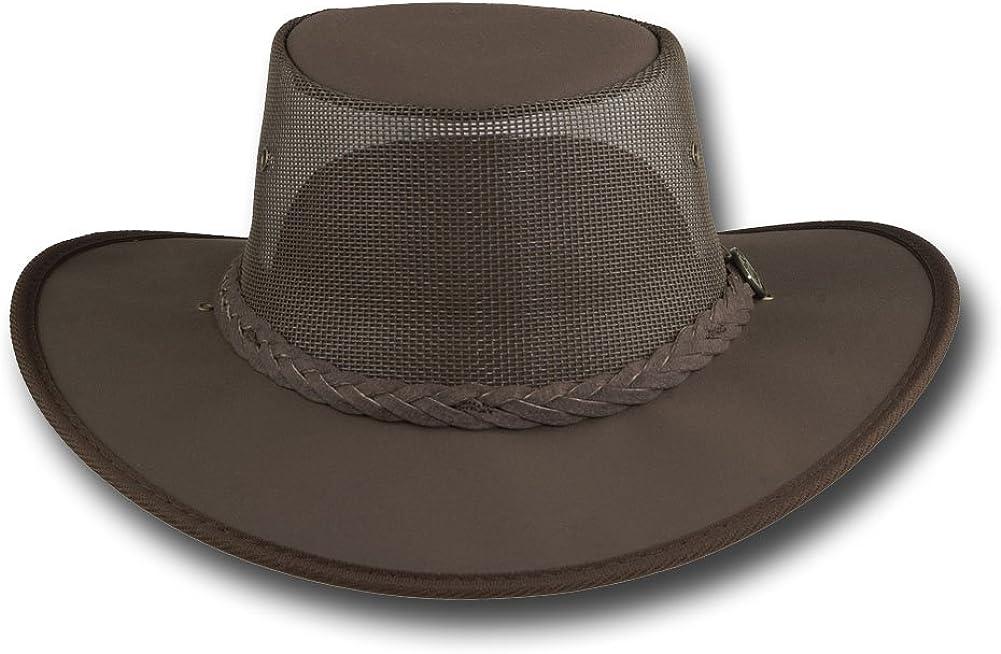 Item 1057 Barmah Hats Canvas Drover Hat